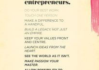 A manifesto for happy entrepreneurs