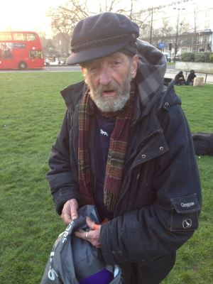 crowdwish helps homeless man