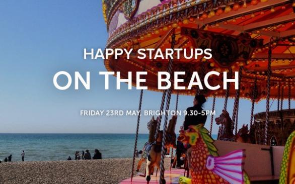 Startup workshop on the beach Brighton