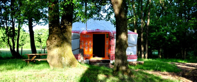 summercamp yurts