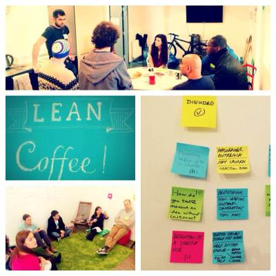lean coffee grid