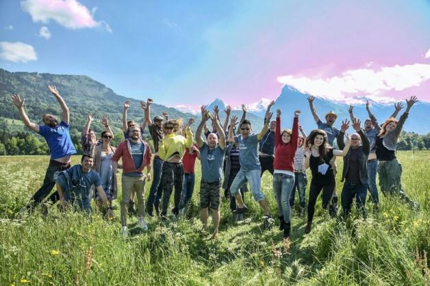 group shot - alptitude mountain retreat